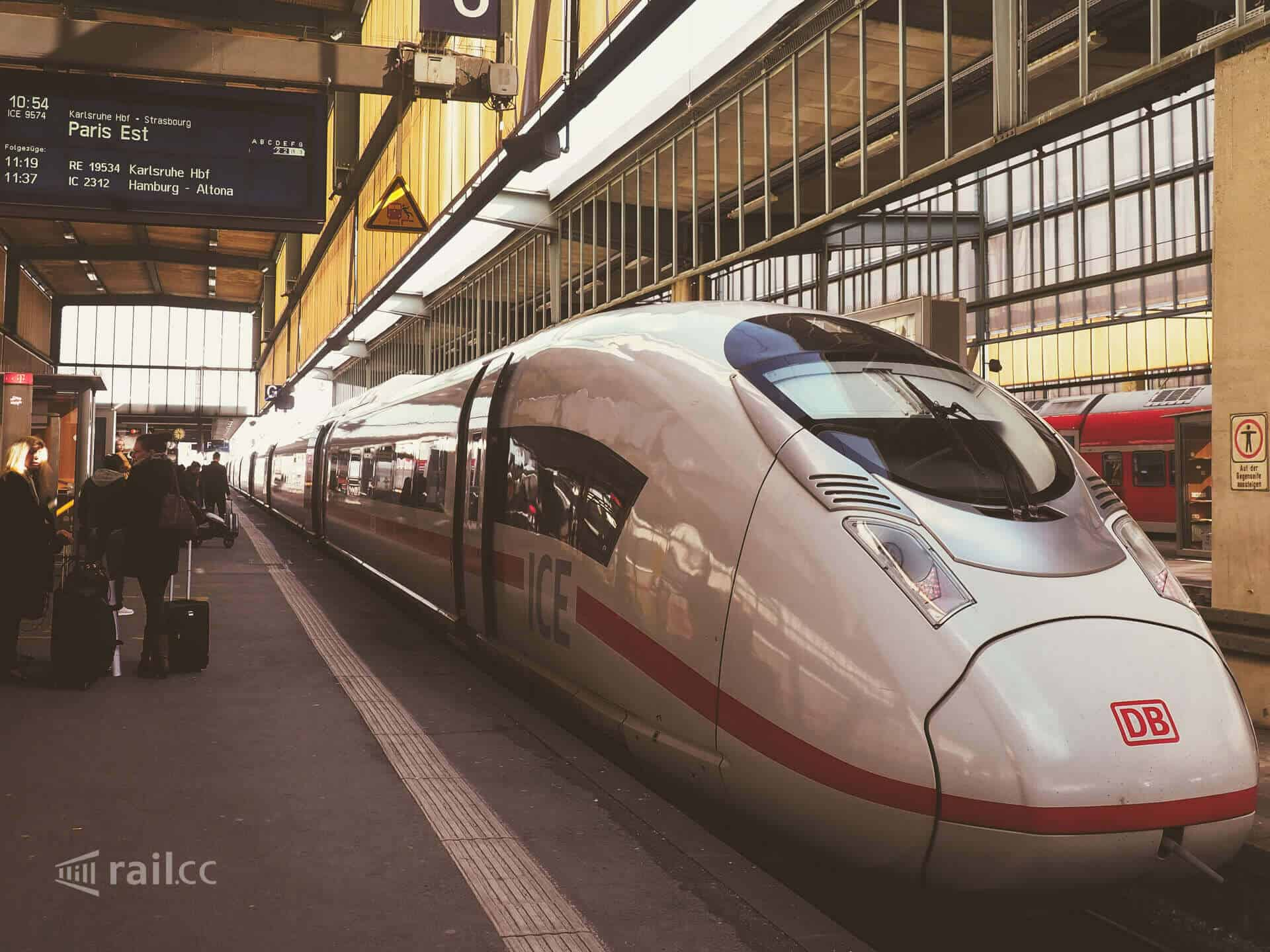 Paris Train Stuttgart To Paris By Ice High Speed Train And Saver Fare Tickets