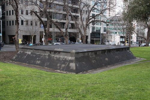 Upper level of the Flagstaff Gardens draft relief shaft