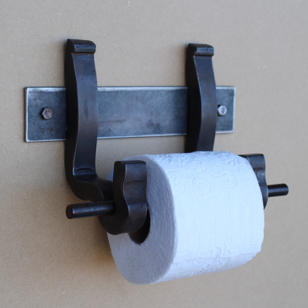 Tp Dispenser Rail Anchor Bracket Toilet Paper Dispenser Railroadware