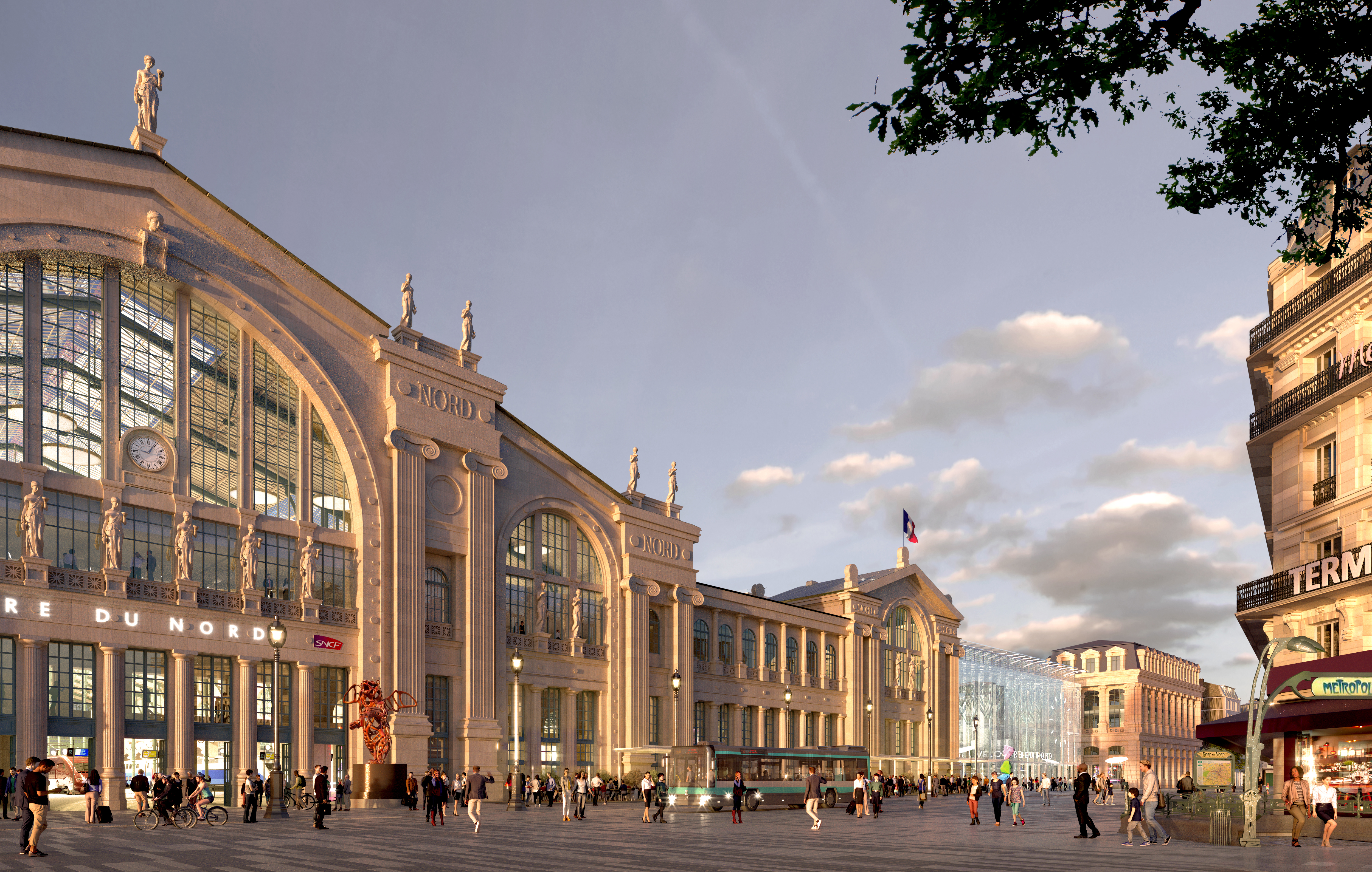 Gare Sncf Paris Gare Du Nord To Be Transformed By 2024 Railtech