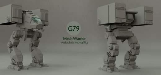 g79-mech-warrior-free-maya-rig