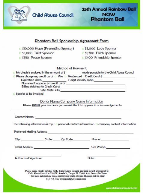 sponsorship agreement - fototango
