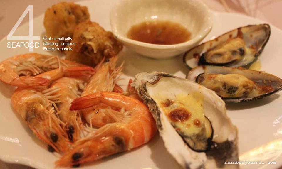 Plate 4: Seafood, Vikings Buffet at Mall of Asia (MOA)