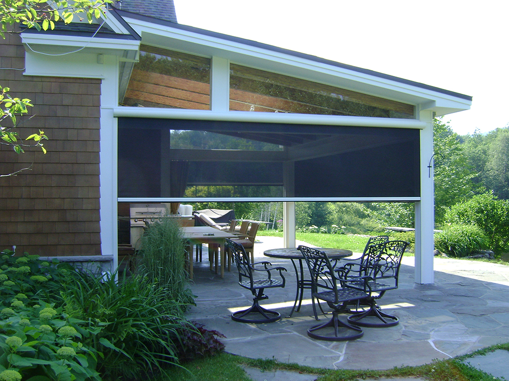 Patio Screening Ideas Screened In Porch Rainier Shade