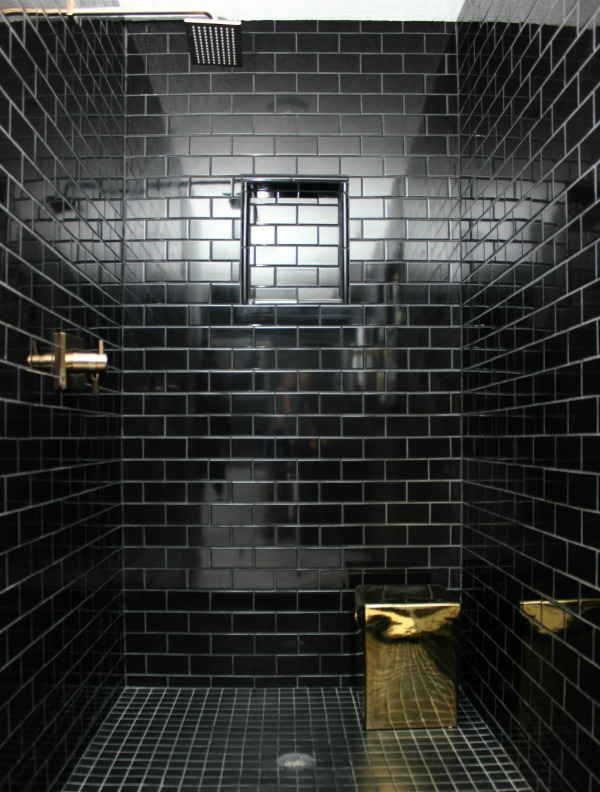 This bathroom remodel is gorgeous it s a great combination of