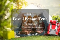 TOP 5 Best 4 Person Tent For Camping | 2018 Reviews