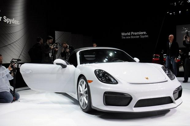 PorscheSpyderFront