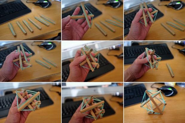 AssemblingTensegrityIcosohedron
