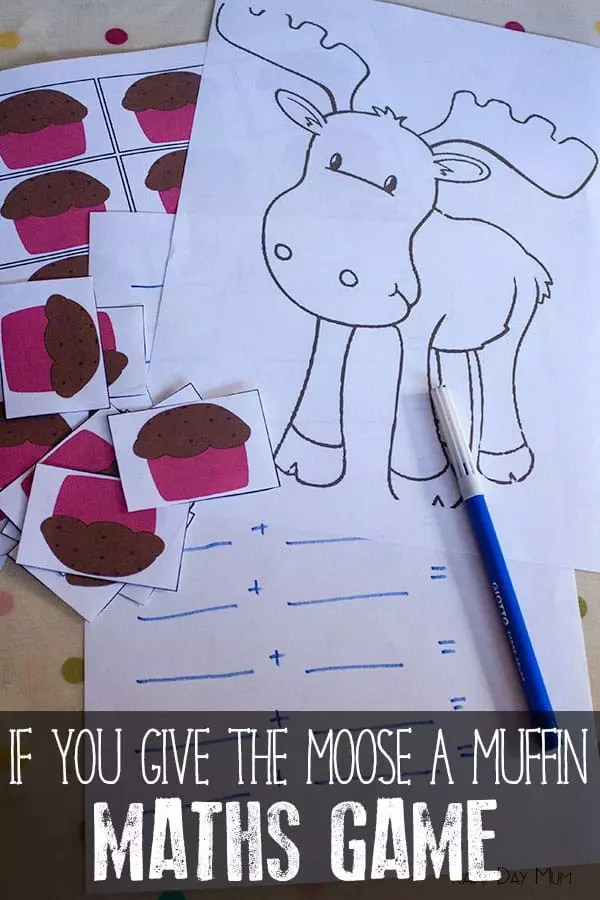 If you give a moose a muffin then math game
