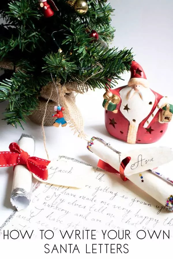 How to Make a Personalised Letter from Santa for Kids