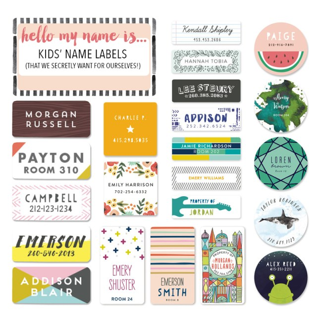 name labels minted stationery stickers clothing labels dishwasher safe