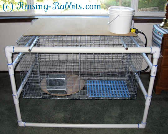 Cat Cage Indoor Indoor Rabbit Cages Hanging On A Convenient Pvc Frame So