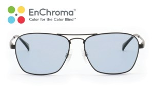EnChroma's color-enhancing lens helps people with color vision deficiency see colors in a variety of new situations including with digital display screens, status indicator lights on devices and equipment, and in color-based activities and tasks under typical indoor lighting conditions. (PRNewsFoto/EnChroma)