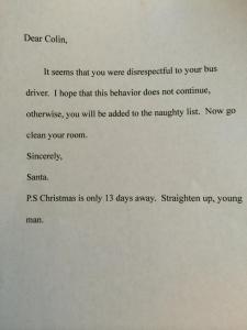 santa mom letter