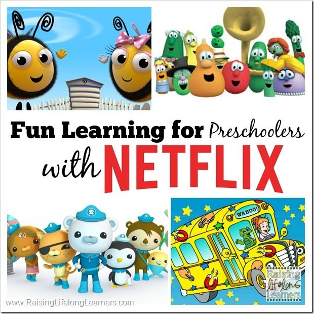 Preschool at Home with Netflix