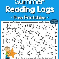 Summer Reading Logs for Kids (Free Printables)