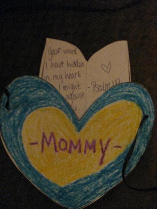 Hiding Him In Little Hearts Week 2: Psalm 119:11
