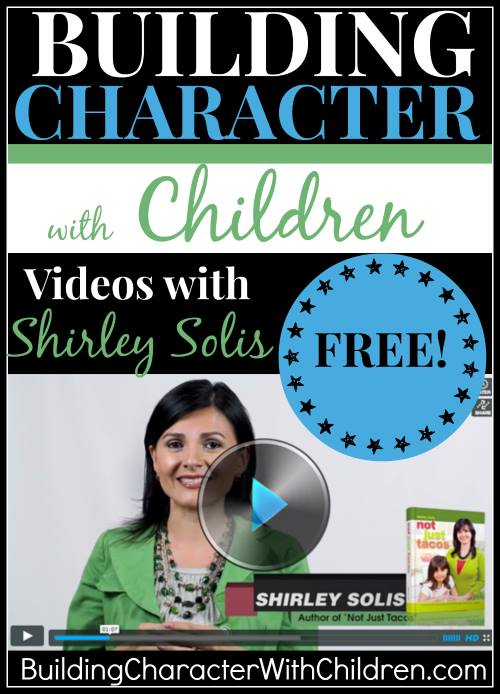 Introducing Building Character With Children With Shirley Solis