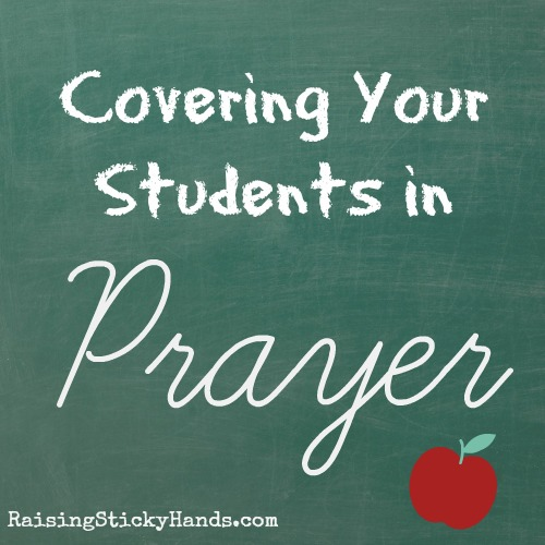 Covering Your Students in Prayer