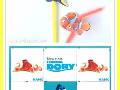 Free finding Dory kids activities