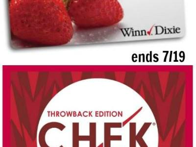 Another Winn Dixie gift card giveaway