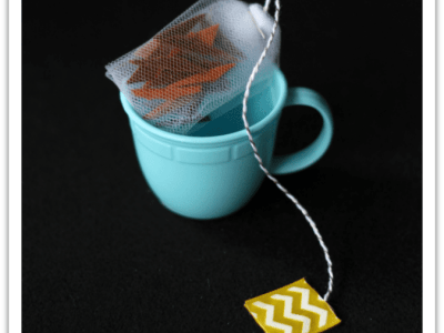 No sew play tea bags tutorial