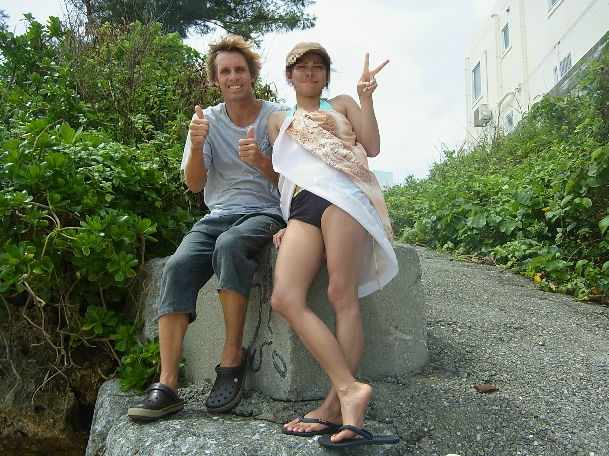 Surfing in Japan for Housewives : Danny Melhado of Happy Surfing
