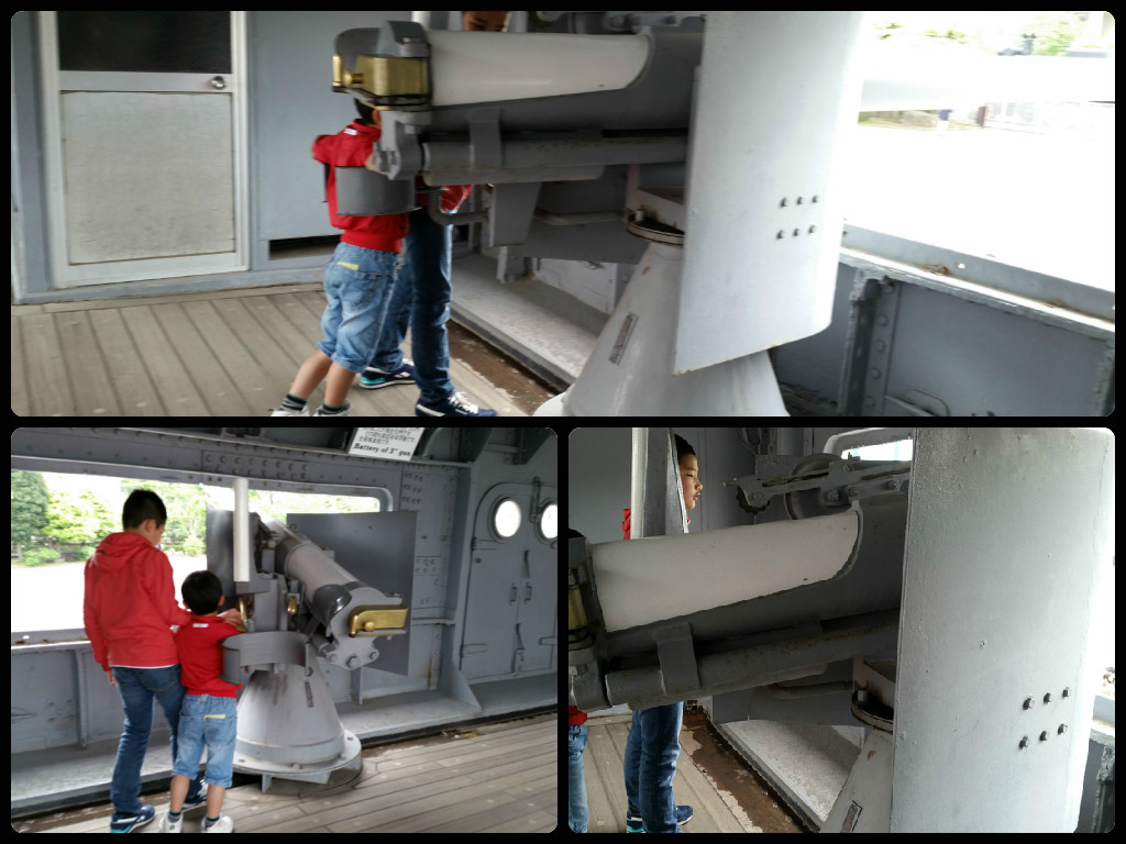 Battleship Mikasa 三笠 : Cannon