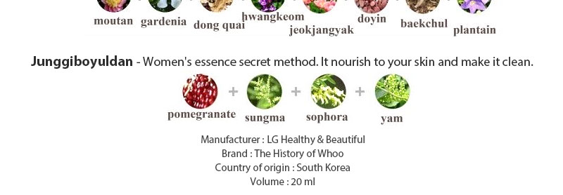 Lg Household Health Care The History Of Whoo Jinyulhyang