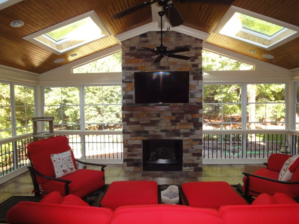 What Is Eze Breeze Raleigh Screen Porch 3 Season Room Builder Raleigh Deck & Screen Porch Builder