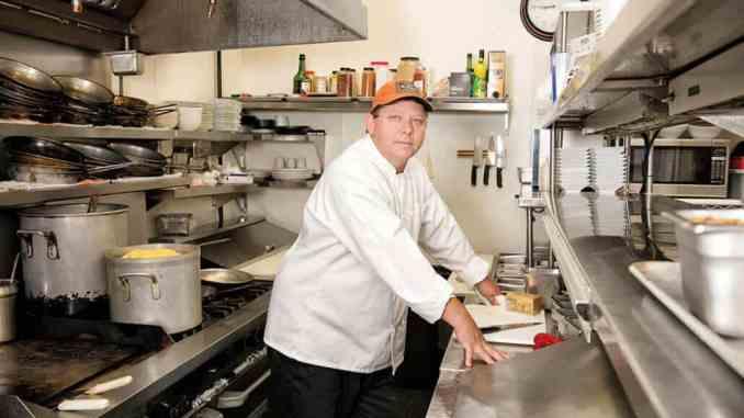 Chef John Wright of Glenwood Grill