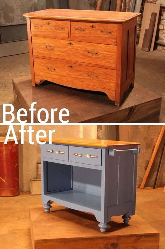 Repeindre Meuble De Cuisine 6 Transformations De Meubles Géniales Diy | Ralfred's Blog