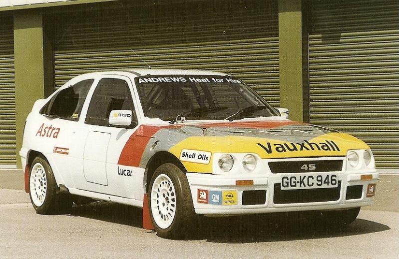 Group B Rally Cars Wallpapers Vauxhall Astra 4s Opel Kadett E 4s Gr B Amp S Prototypes
