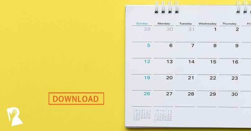 How to Plan Your Social Recruiting Calendar (Template Included - calendar template