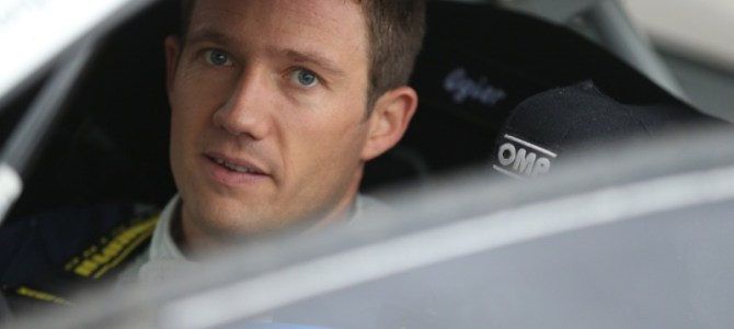 Ogier retires with late gear shift problem