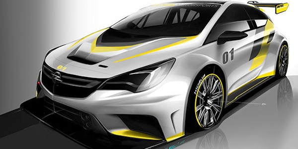 Opel Motorsport to reveal new Astra TCR car at Mettet this month