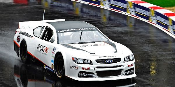 The new Nascar Whelen Euro Series car rocks the Race of Champions