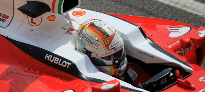 """Sebastian Vettel: """"The driver can always make the difference"""""""