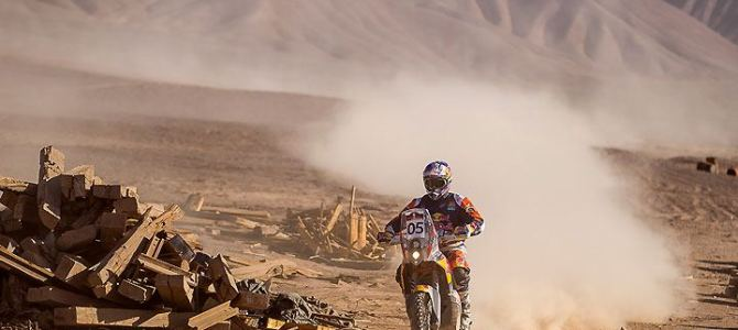 Toby Price leads Atacama Rally after Stage 3