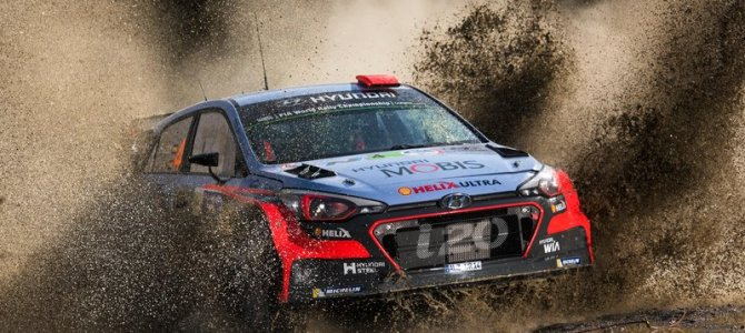 Sordo jumps up to second