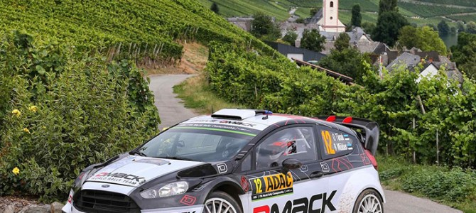 Tänak looking forward to Tour de Corse with DMACK World Rally Team