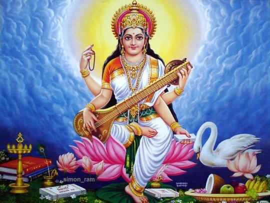 Maa Saraswati 3d Wallpaper 2013 Goddess Saraswati Maa Hd Wallpapers Ramani S Blog