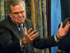 Jeb Bush does the best Sopranos impersonation in his family.