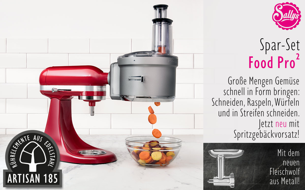 Kitchenaid Küchenmaschine Angebot Kitchenaid Artisan Set Food Processor Metall Fleischwolf