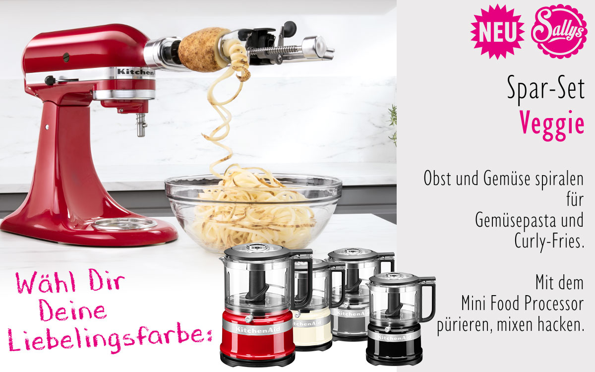 Kitchenaid Artisan Küchenmaschine Pink Sonderedition Kitchenaid Artisan Set Veggi Ramershoven