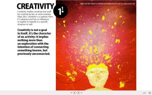creativity by Helge Tenno