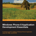 Book cover - Windows Phone 8 Application Development Essentials