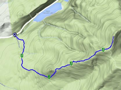 Cascade Mountain Elevation