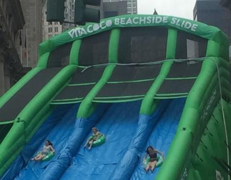 2016 Summer Streets Beachside Slide