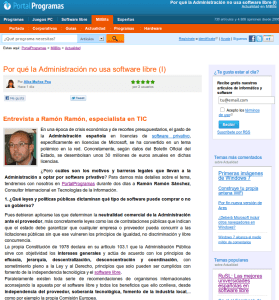 Captura de pantalla de 2012 06 13 183953 279x300 Por qué la Administración no usa software libre